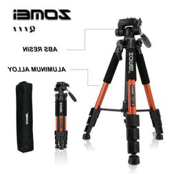 Zomei Professional Portable Aluminium Tripod&Pan Head Travel