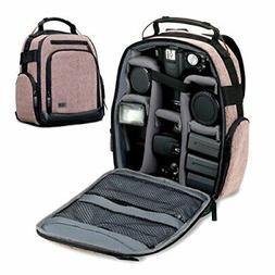 USA GEAR Portable Camera Backpack for DSLR/SLR