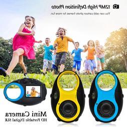 Portable Digital SLR Camera for Kids Mini 12MP 1.5 inch Scre