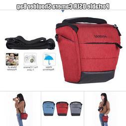 Andoer Portable DSLR Camera Shoulder Bag Sleek Polyester Cam