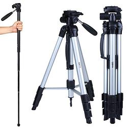 portable dslr tripod monopod flexible