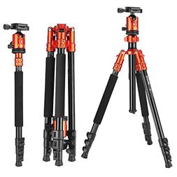 ZoMei Camera Tripod with Ball Head Professional Portable Mag