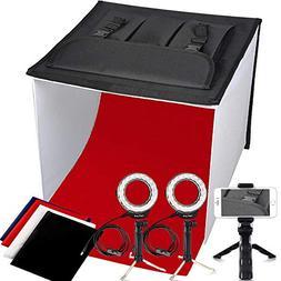 Photo Studio Box, FOSITAN 16x16 inch Table Top Photo Light B