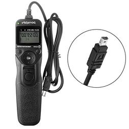 Portable Wired Shutter Release Timer Remote Control MC-DC2 f