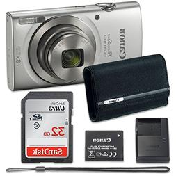 Canon PowerShot ELPH 180 Digital Camera  with 32GB Memory +