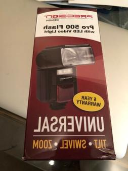 pro 500 electronic flash with led video