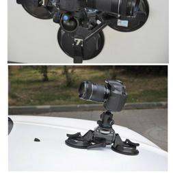 Pro Car Window Suction Cup Stabilizer unit 3 sucker for DSLR