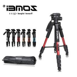 ZOMEI Professional Aluminum Mini Tripod&Pan Head Portable Fo