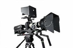 Lanparte Professional DSLR Camera Rig Kit V2 with V-Mount Sh