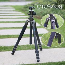 Professional Portable Carbon Fiber Tripod Monopod&BallHead T