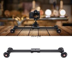 Protable 60CM DSLR SLR Camera DV Video Track Dolly Slider Sy