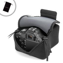 USA Gear Protective DSLR Camera Case/SLR Camera Sleeve Holst