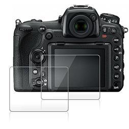 Screen Protector for Nikon D500, AFUNTA 2 Pack Camera Anti-s