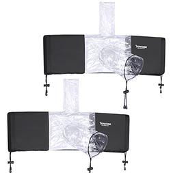 Neewer 2-Pack Camera Protector Rain Cover Rainproof for Digi