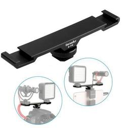 Ulanzi PT-2 Double Hot Shoe Mount Extension Bar Dual Bracket