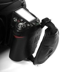 PULeather Wrist Strap Camera Hand Grip for Canon EOS Nikon S