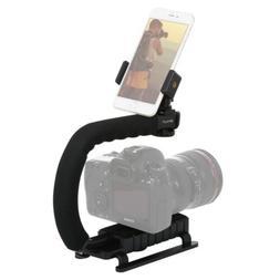 PULUZ U/C Shape Portable Handheld DV Bracket Stabilizer Kits