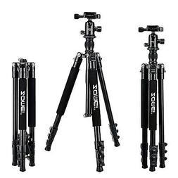 Zomei Q555 Alluminum Alloy Lightweight Camera Tripod with 36