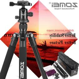 Zomei Q555 Portable Aluminium Camera Tripod Ball Head Stand