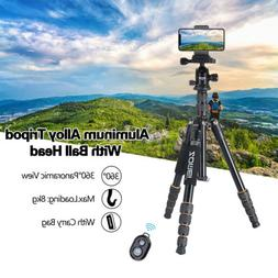 ZOMEI Q666 Portable Aluminum Tripod Ball Head Lightweight fo