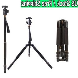 Andoer Q999S Pro Tripod Detachable Changeable Monopod with Q