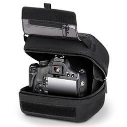 Quick Access DSLR Hard Shell Camera Case with Molded EVA Pro