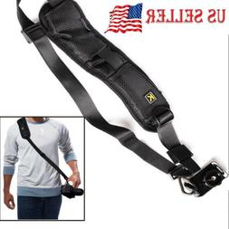 Quick Rapid Shoulder Neck Strap  Belt for DSLR/SLR  Digital