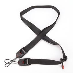 Quick Release DSLR Camera Cuff Wrist Belt &Leash Shoulder St