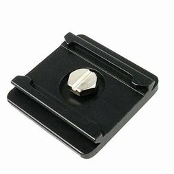 Quick Release Mounting Plate Camera Tripod 1/4in thread comp