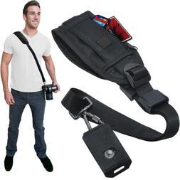 Quick Release Shoulder Strap for DSLR Cameras & Camcorders w