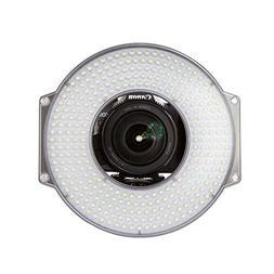 F&V R-300 LED Ring Light with L-Bracket Video Camera Light f