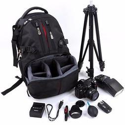 Rainproof Shockproof Nylon SLR DSLR Camera Photography Bag L