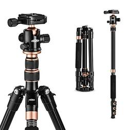"Rangers 57"" Ultra Compact and Lightweight Aluminum Tripod"