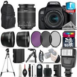 Canon Rebel 800D T7i DSLR Camera + 18-55mm IS STM + 1yr Warr