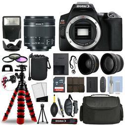 Canon Rebel SL3 DSLR Camera with 18-55mm STM+ 16GB 3 Lens Ul