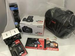 Canon Rebel T6 dSLR camera kit, 18MP, w/18-55mm lens  Access