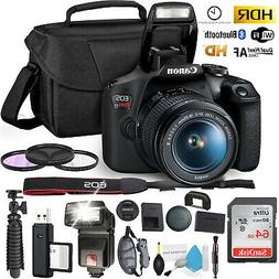 Canon Rebel T7 DSLR Camera +18-55mm Lens and 64GB Ultra Spee