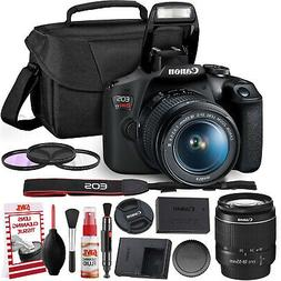 Canon Rebel T7 DSLR Camera +18-55mm Lens Kit and Carrying Ca