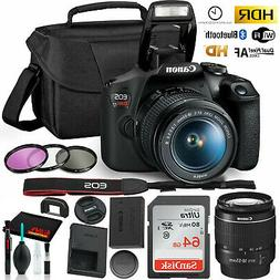 Canon Rebel T7 DSLR Camera with 18-55mm Lens Kit and Sandisk