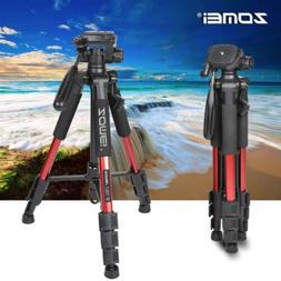 Zomei Red Pro Aluminium Q111 Tripod Heavy Duty Pan Head For