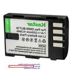 Kastar Replacement Battery for Panasonic DMW-BLF19 BLF19E &