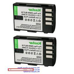 Kastar Replacement Battery Pack for Panasonic DMW-BLF19 & Lu