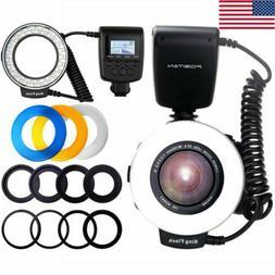 RF-550D Camera Ring Flash Light Macro For DSLR Nikon Canon O