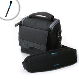 USA Gear Rugged Heavy-Duty Camera Bag Case with Detachable S