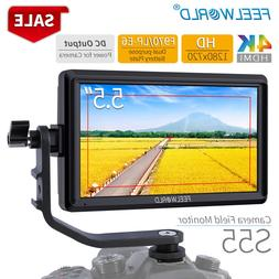 FEELWORLD S55 5.5 inch DSLR Camera <font><b>Monitor</b></fon