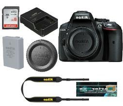 Sale Nikon D5300 Dslr Camera Body Black Retail Box + Free 8G