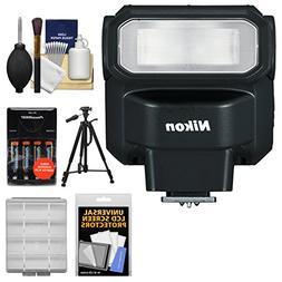 Nikon SB-300 AF Speedlight Flash with Batteries & Charger +