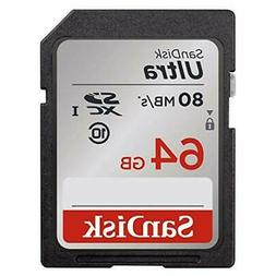 SD Class 10 Storage Memory Card SDHC 64G Ultra UHS-I For DSL