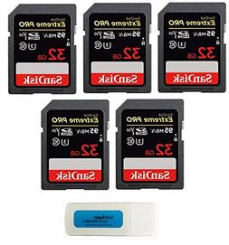 SanDisk 32GB  SD HC Extreme Pro Memory Card works with Digit