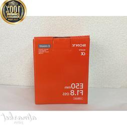 SONY SEL50F18-B single focus lens E 50mm F1.8 OSS APS-C form